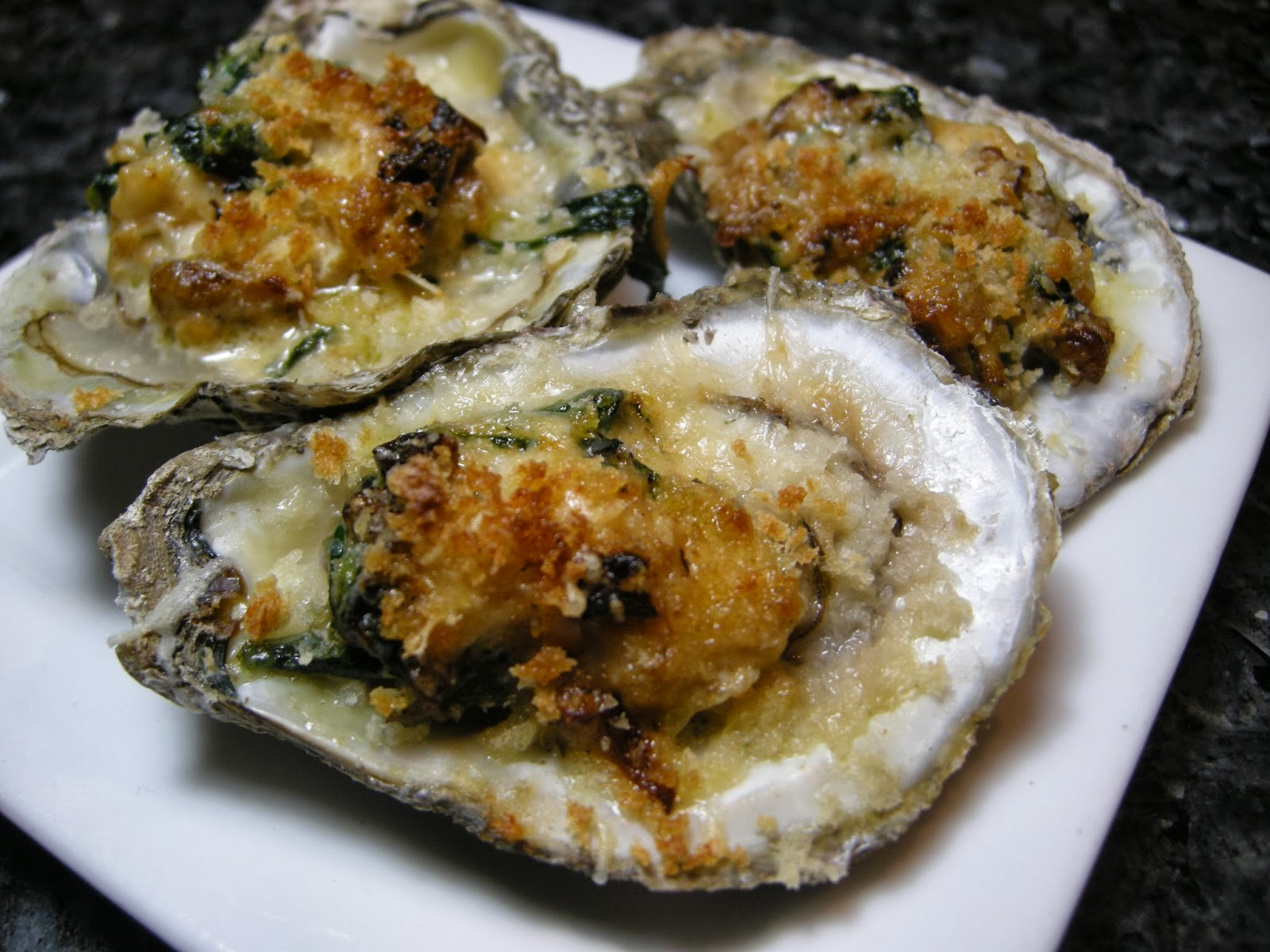 Kitchens Are Monkey Business: Oysters On The Half Shell!