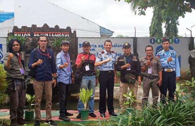 Bersama PWI HST, Pendim1002 Coffe Morning  Dengan  Ka Rutan Kelas IIB Barabai