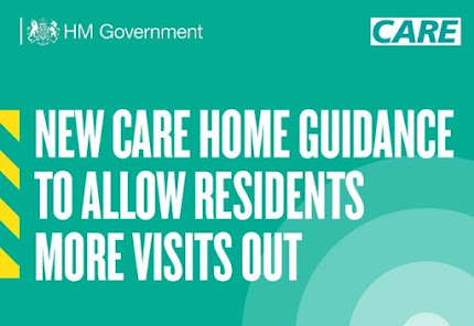 New Care Home Guidance to let residents go out more often 020521 UK Gov