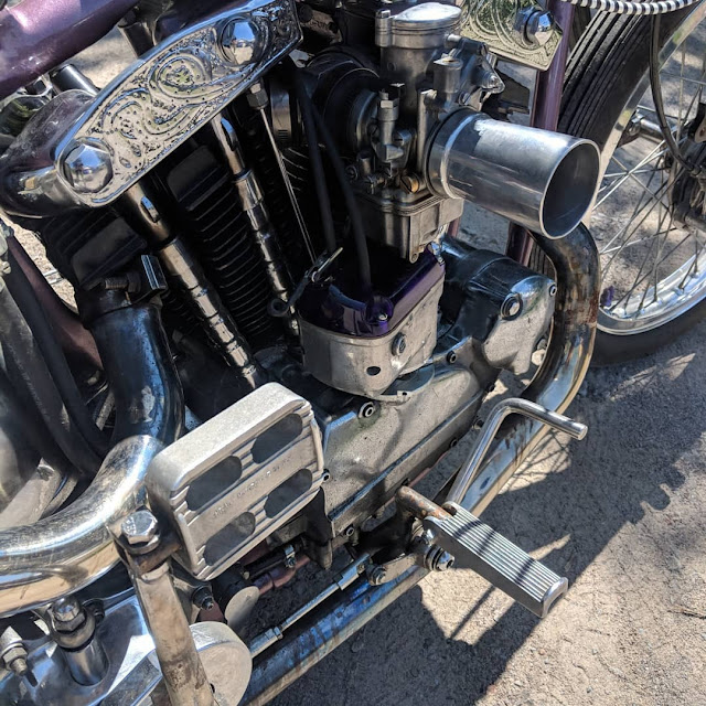 Harley Davidson Ironhead By Stones Cycle Co. Hell Kustom