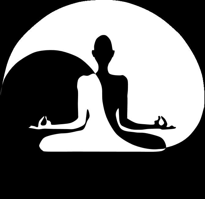 Yin Yan Yoga Clipart Clipart Creationz