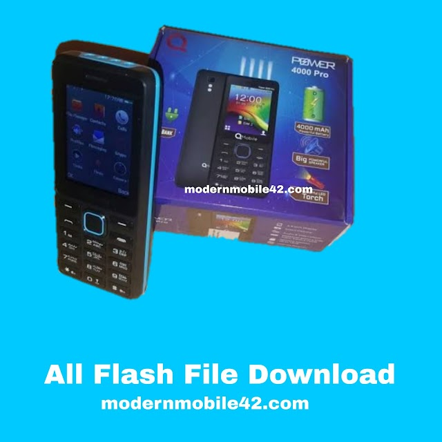 qmobile power 4000 pro flash file