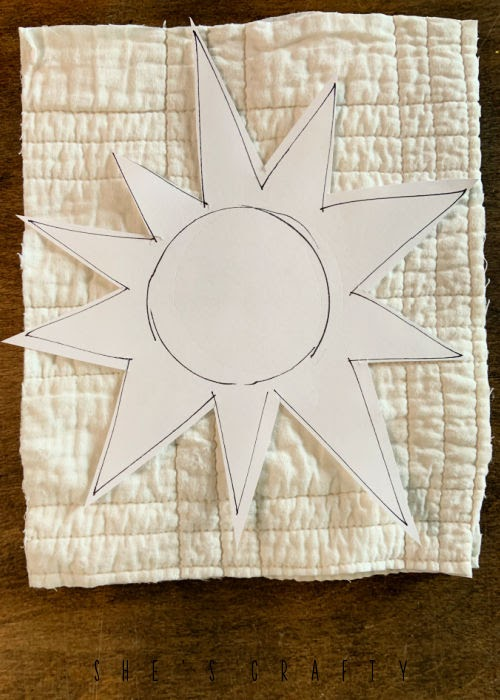 How to make Primitive Sunflowers