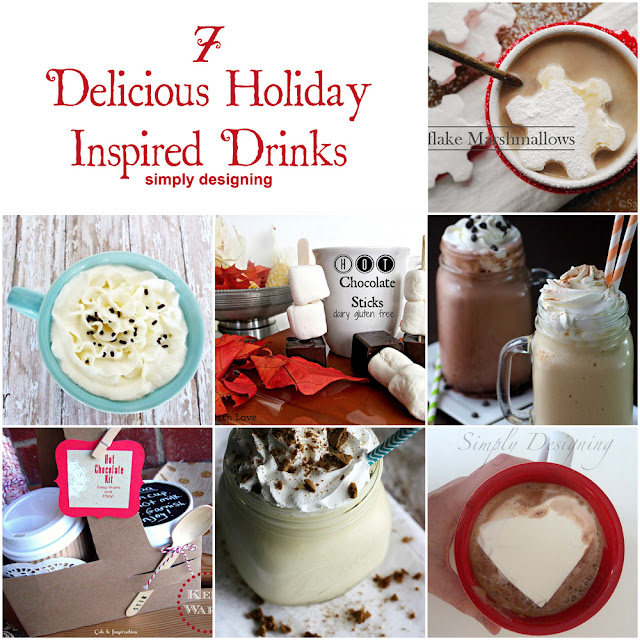7 Delicious Holiday-Inspired Drinks | #drinks #recipes #winter