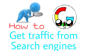 How to get traffic from search engines, organic traffic