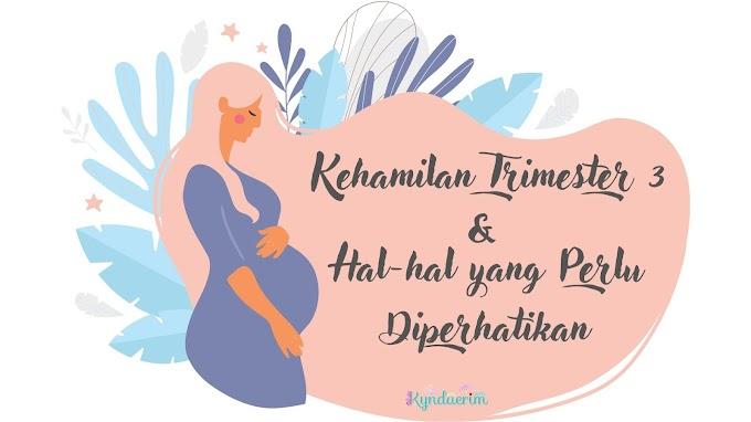 Kehamilan Trimester 3 dan Hal-hal yang Perlu Diperhatikan