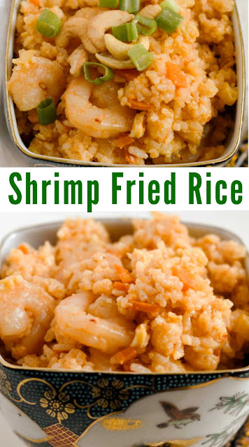 Shrimp fried rice is a great tasty meal that can be ready in about 30 minutes. Plus it is super easy to customize to match your tastes.