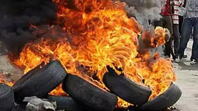 Mob Burn Man To Death For Stealing Amplifier In Mosque