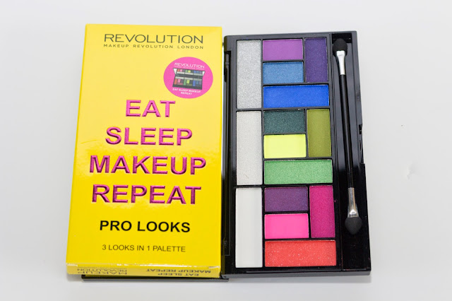 amazing colorful palette bright colour eye shadow laurajanestyle