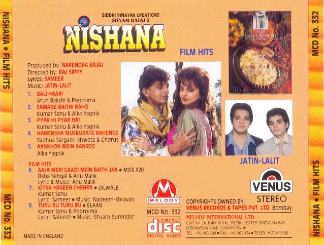 Download Nishana [1995-MP3-VBR-320Kbps] Review
