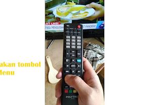 Cara Setting Sambungan AV TV Polytron