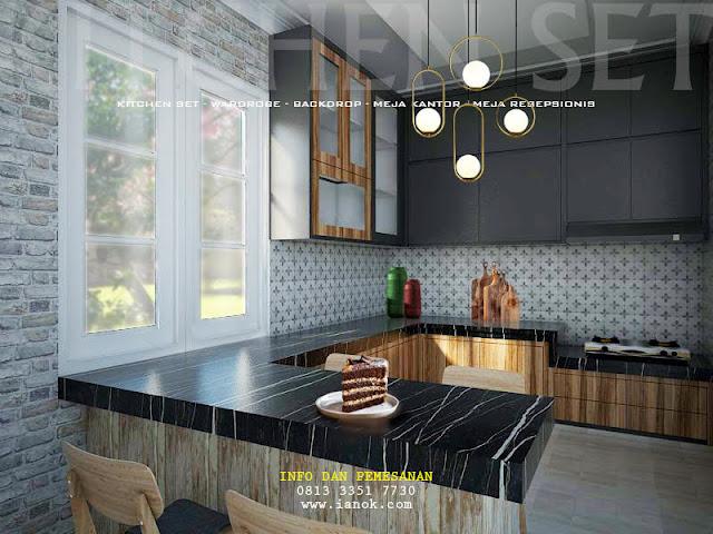 Kitchen set untuk dapur Surabaya