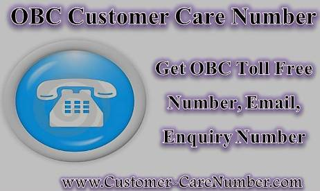 OBC Customer Care Number