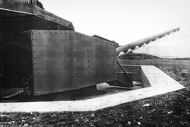 World War II Coastal Battery At Whitehaven