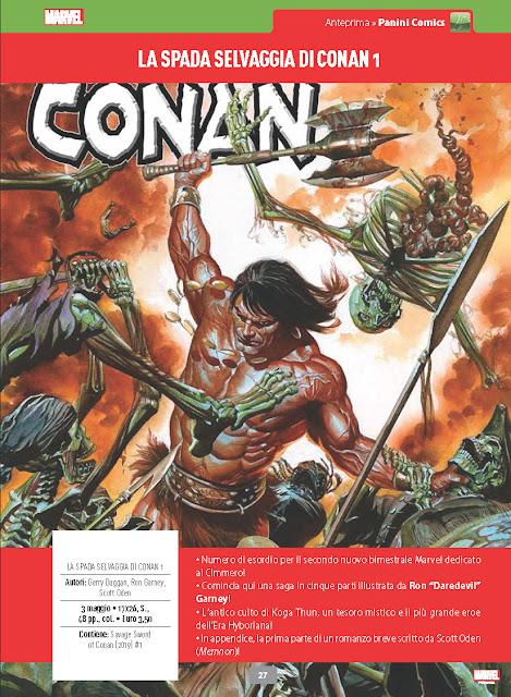 La spada selvaggia di Conan #1