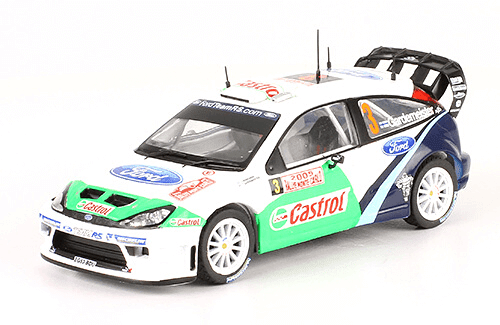 collezione rally monte carlo Ford Focus RS WRC 2005 T. Gardemeister - J. Honkanen