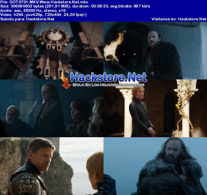 "Capturas de Game of Thrones 7×01 ""Dragonstone"""