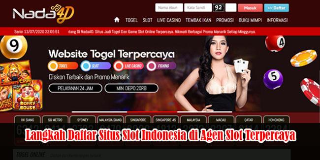 Langkah Daftar Situs Slot Indonesia di Agen Slot Terpercaya