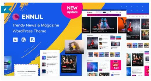 Ennlil Theme WordPress Magazine