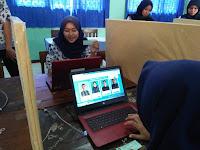 Pakai E-Pilkasis, Pilih  Ketua OSIS SMKN 1 Cluwak Cuma Satu Menit