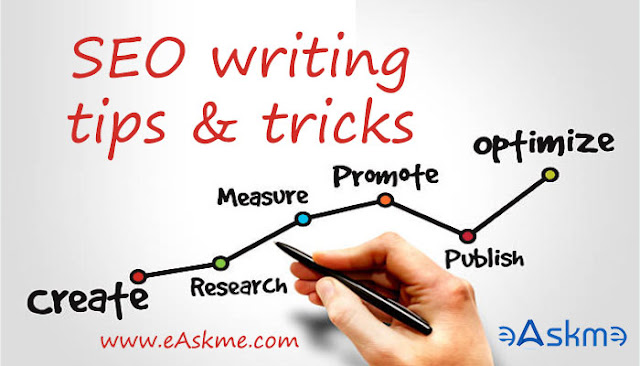 Tips and Techniques for SEO writing: eAskme