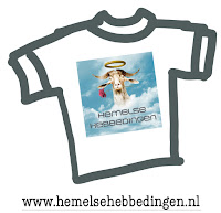 Hemelse Hebbedingen logo op getekend shirtt