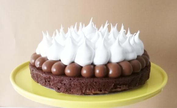 Torta brownie decorada