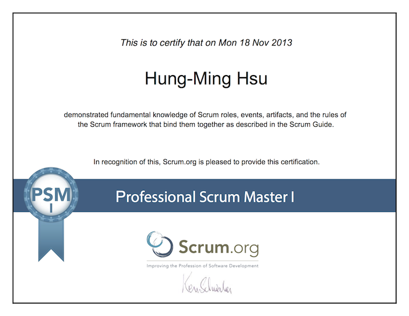 Suggestions to pass the Professional Scrum Master I (PSM I