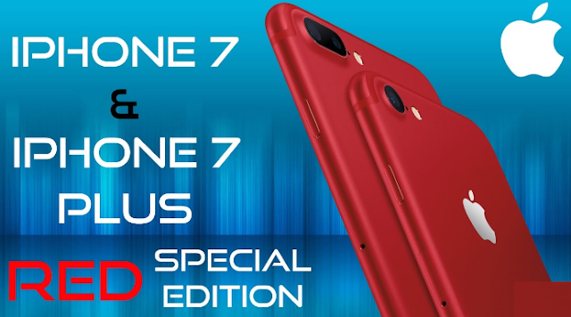 Get a Special Edition iPhone7 [RED]