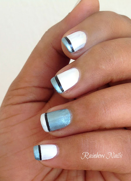french tip nail design - pccala