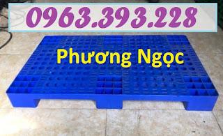 Pallet nhựa, pallet kê hàng, pallet nhựa giá rẻ, pallet nhựa nguyên sinh PL6