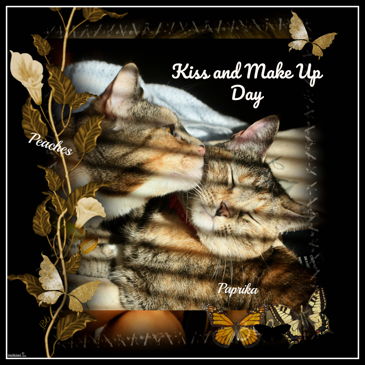 Kiss And Make Up: Peaches And Paprika: National Kiss And Make Up Day