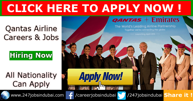 New Jobs Openings and Careers at Qantas Airline