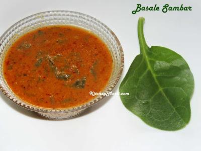 Basala+Sambar
