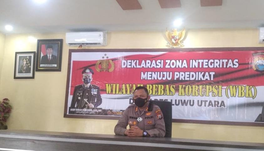Deklarasi Zona Integritas, Kapolres Luwu Utara AKBP Irwan Sunuddin Optimis Raih WBK
