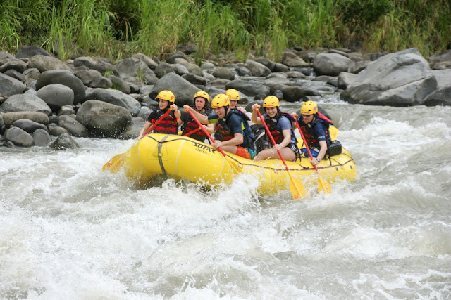 Últimos rápidos del rafting