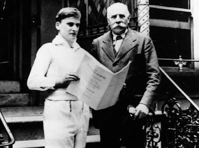 Yehudi Menuhin and Sir Edward Elgar