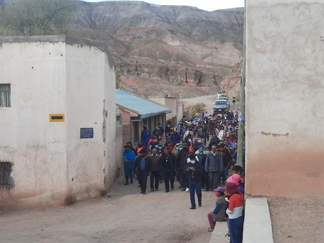 Ankunft in Esmoruco