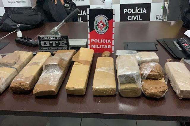Operação policial cumpre 13 mandados judiciais e prende três pessoas em Santa Luzia