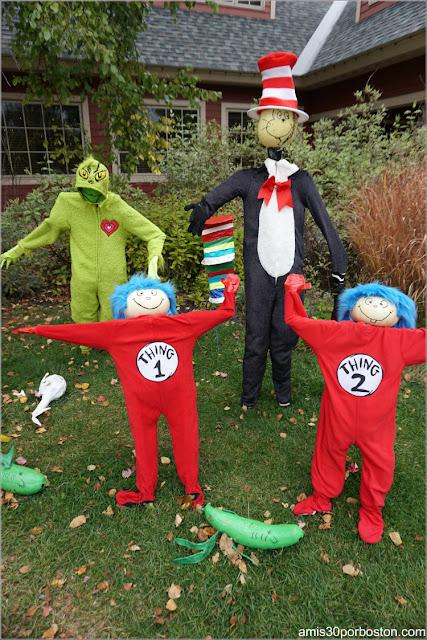 Dr. Seuss en el Return of the Pumpkin People de Jackson en New Hampshire