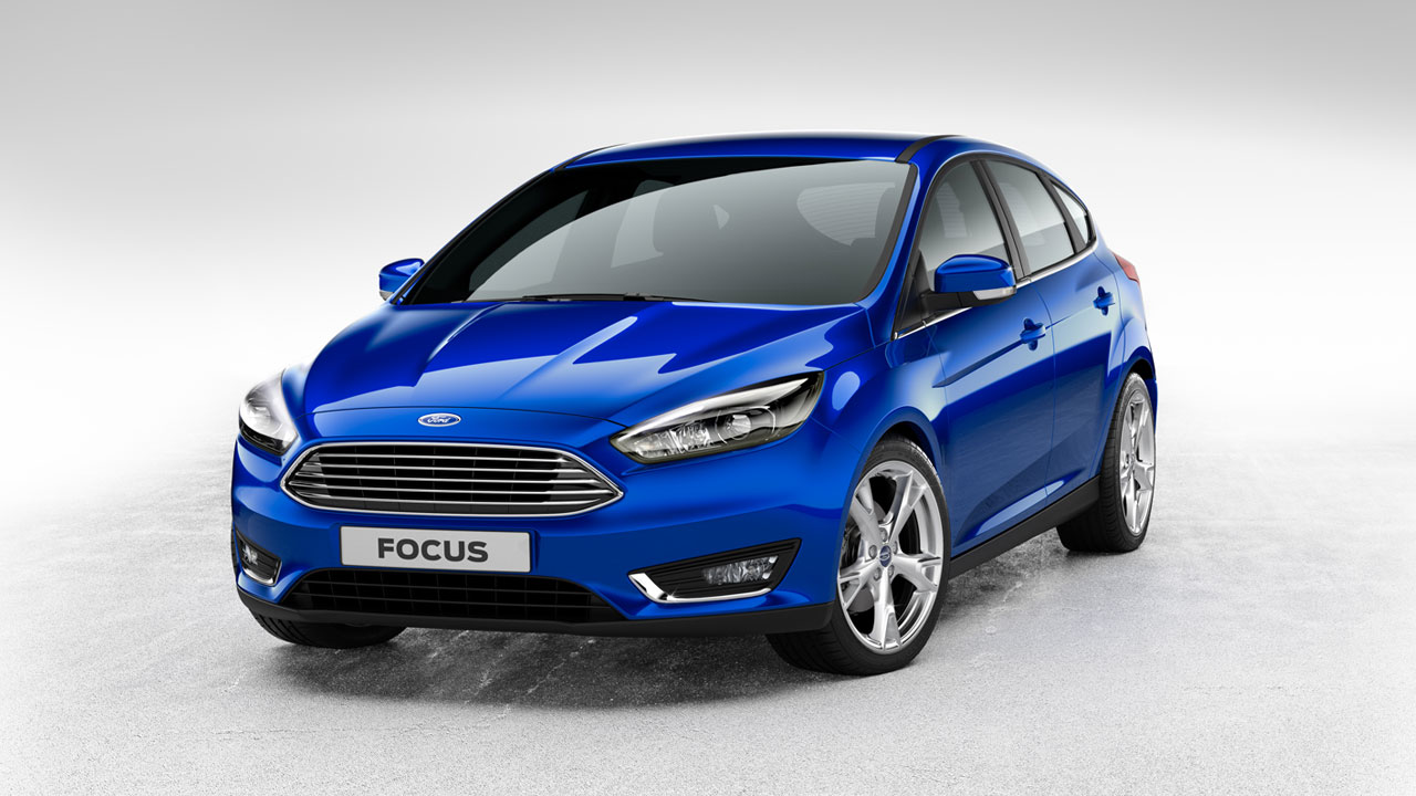 Ford Focus 5 door front