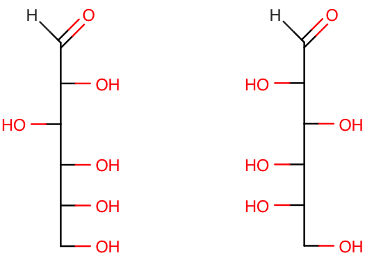 Glucose L-Glucos...D Glucose And L Glucose