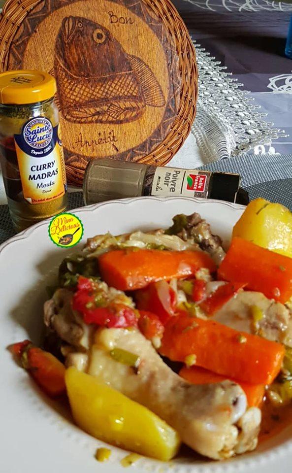 Les recettes de Mina Delicious : le ragoût de poulet