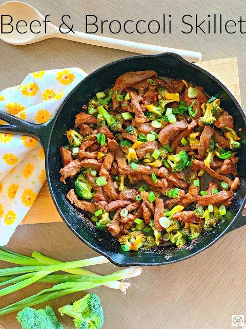 Beef and broccoli skillet recipe