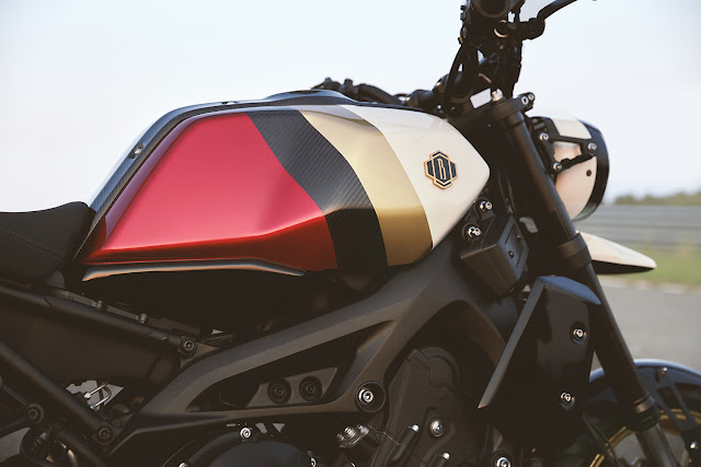 Yamaha XSR900 By Bunker Custom Cycles Hell Kustom