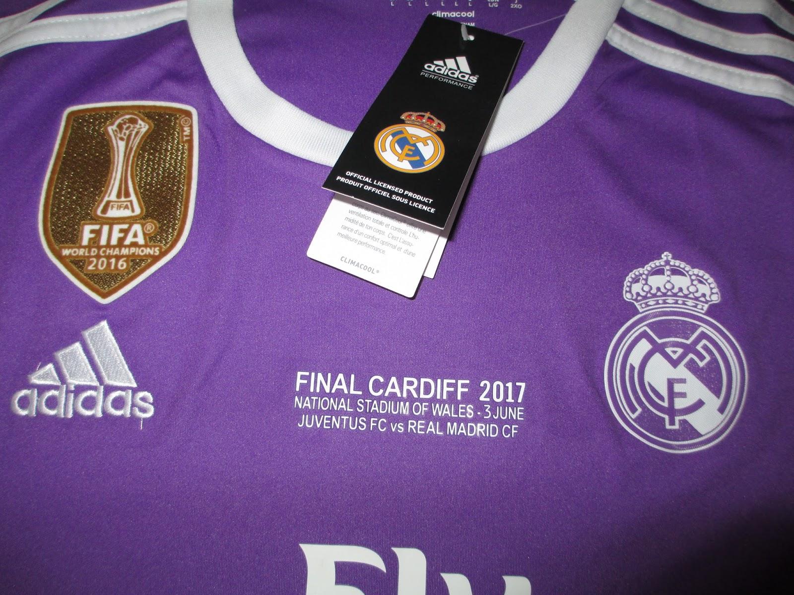 6622c7b07ea Coleccionismo AMPS  Real Madrid camiseta final Champions League 2017 ...
