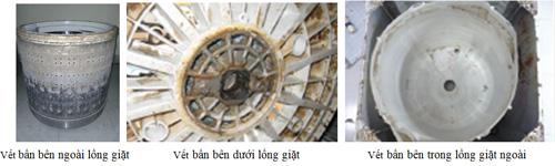 Máy giặt cửa trước Big Drum 510 của máy giặc Hitachi.