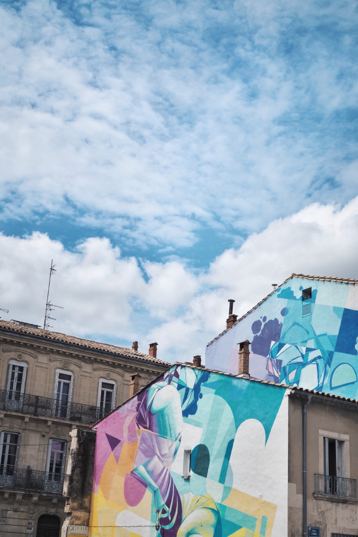 Street art dans les rues de Montpellier