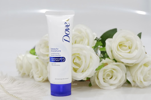 REVIEW: DOVE Beauty Mouisture Conditioning Facial Cleanser  - Our Beauty Story