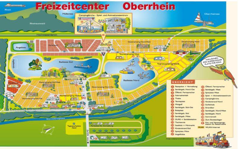 Campingplatz Oberrhein